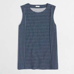 J.Crew Factory Striped Shell Tank